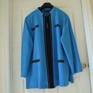 Ming Wang Women's Knit Jacket Size 3X